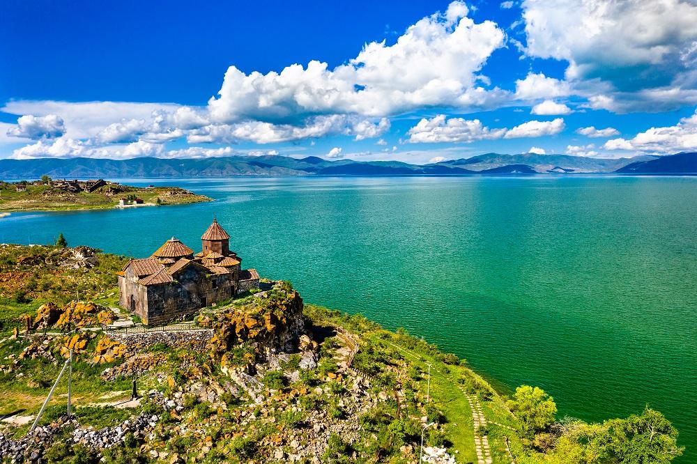 Paysages lac Arménie