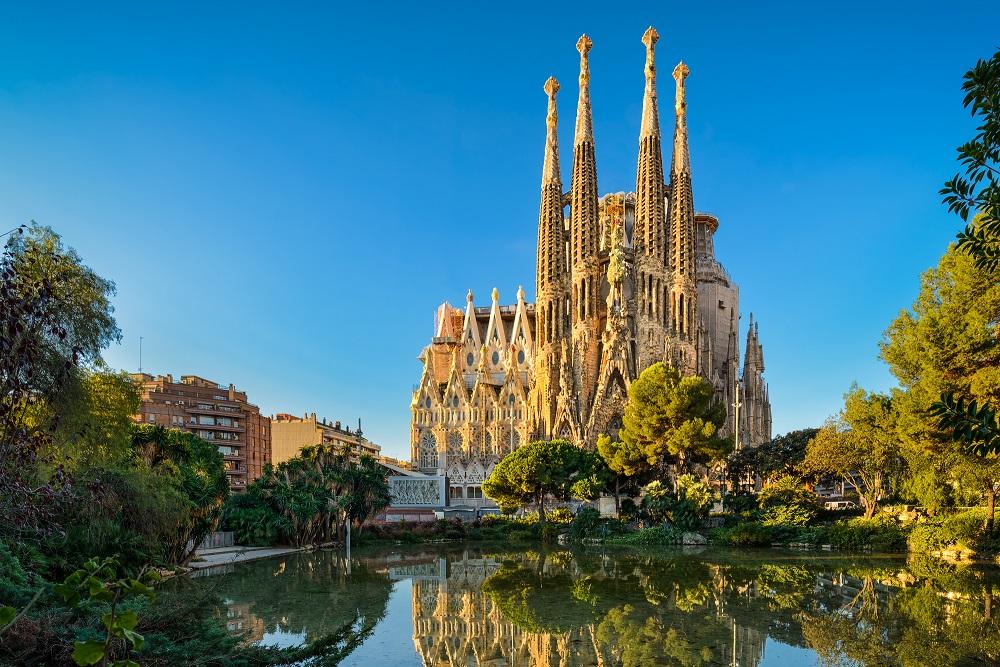Sagrada Familia Barcelone Espagne