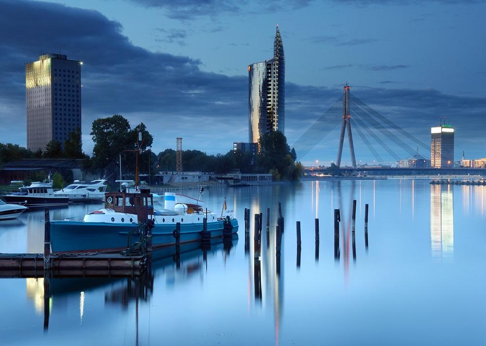 Lettonie Capitale Riga