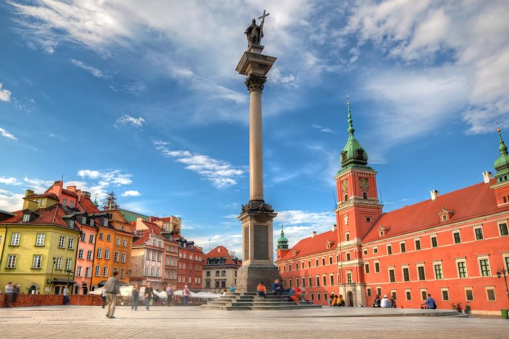 Pologne capital Varsovie