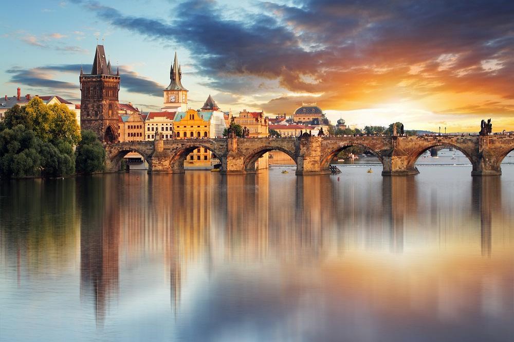 République Tchèque capitale Prague Danube