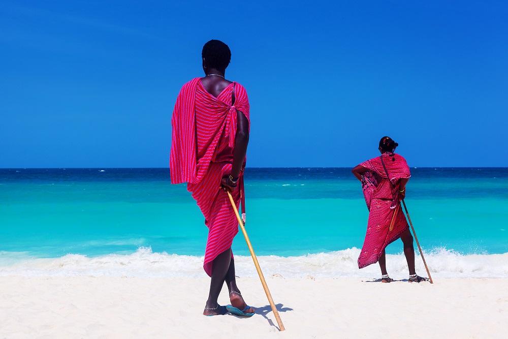 Océan Indien Zanzibar Tanzanie Plage