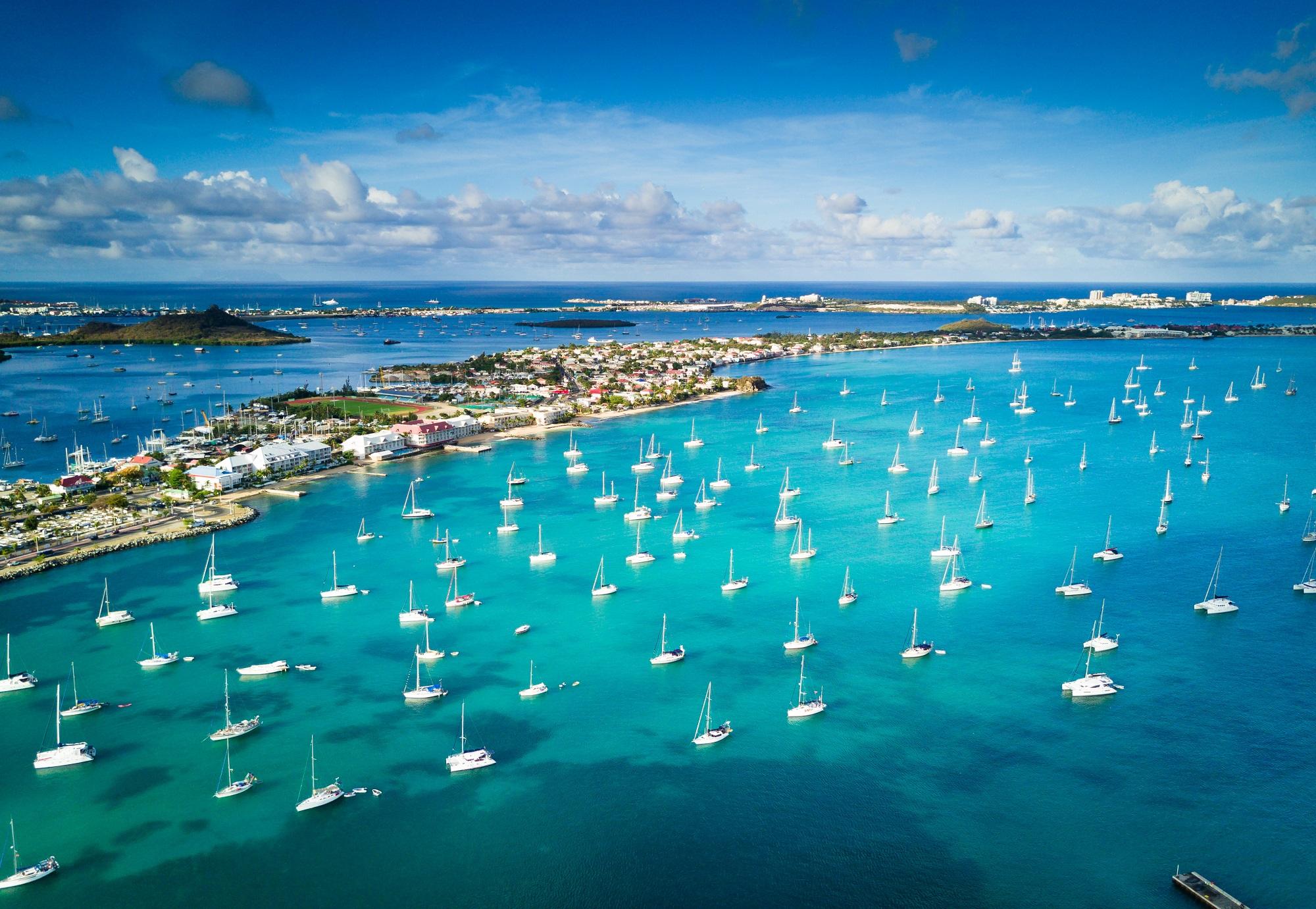 Voyages, circuits, Séjour et Autotours à Saint-Martin. Voyages aux Caraïbes. Les comptoirs du Monde, agence de voyage pour individuels et groupes