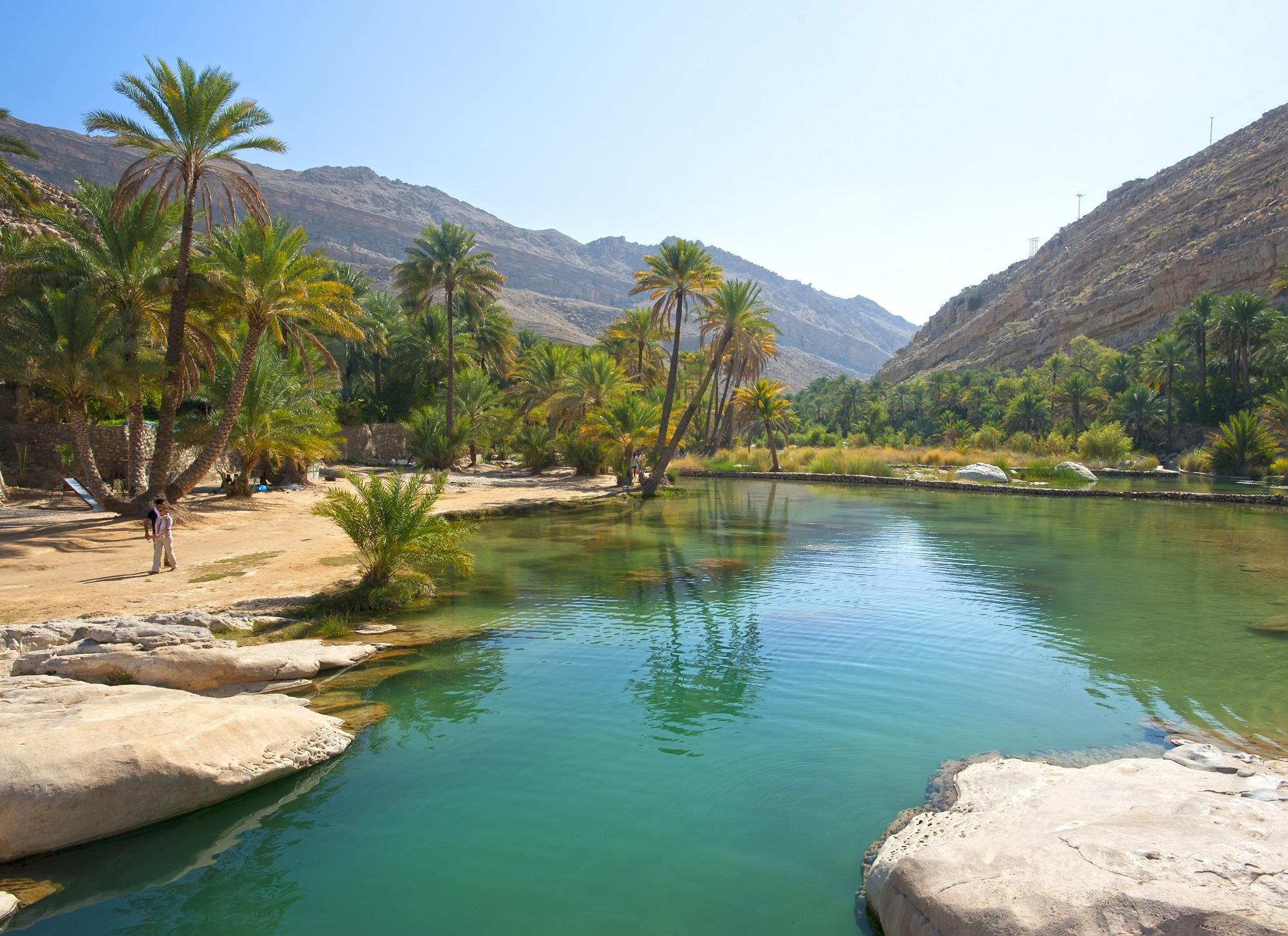 sultanat d'Oman Wadi